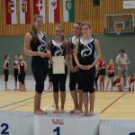 1. Platz: Panthers (Julia, Anna, Lena, Sophia) 530 Punkte